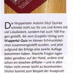 Bergische Blätter - Wuppertal Quiz