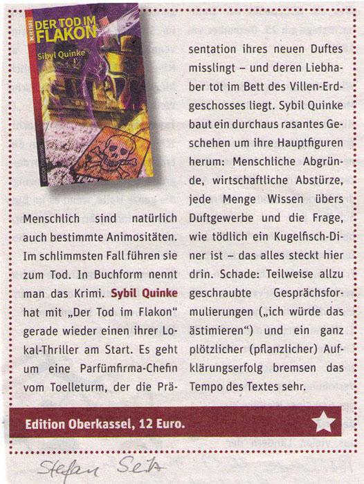 Wuppertal Rundschau - Tod Im Flakom